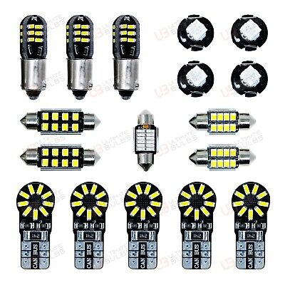 Audi RS3 8P - Interior LED Light bulb Kit | High Quality | 2011-2012 | UK Stock