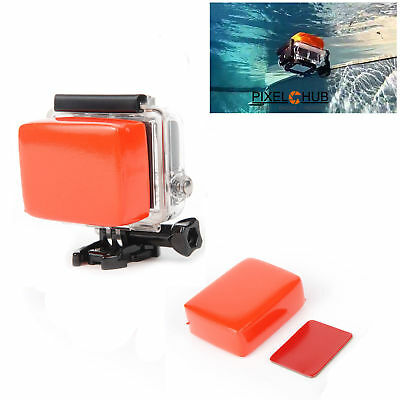Floater with adhesive for GoPro Hero 5 4 3 2 1 float floaty backdoor water sea