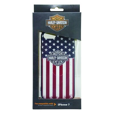 Harley Davidson iPhone 8 and iPhone 7 USA Flag TPU Protective Cover