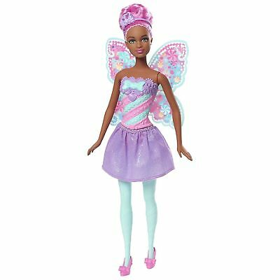 Barbie Sweetville Dreamtopia Fairy Candy Fashion Fairytale African American Doll