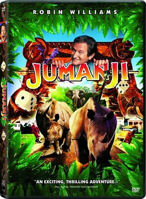 Jumanji [DVD] NEW!
