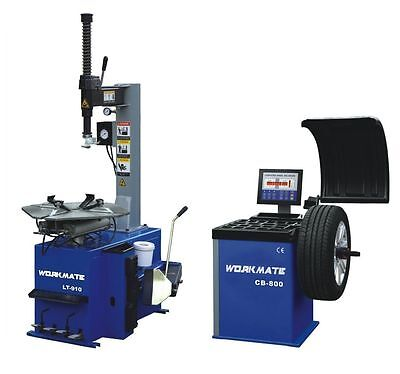 "Professional Tyre Changer (12""-28"") & Wheel Balancer Machine Combo-6 CE Standard"