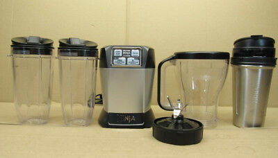 Nutri Ninja Auto iQ Complete Extraction Blender System (Refurbished) BL486