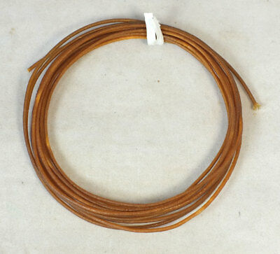 10' NOS VINTAGE Cloth Wire Electronic Insulation Tubing
