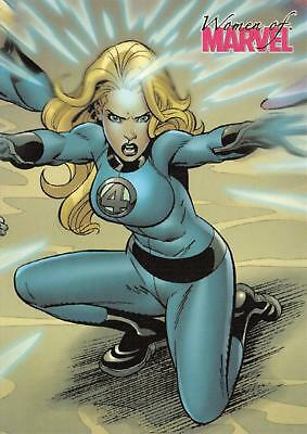INVISIBLE WOMAN / Women of Marvel 2008 BASE Trading Card #25