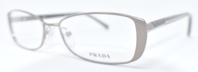 26c5972c0c53b NEW AUTHENTIC PRADA Unisex Eyeglasses Vpr 580 Iao-101 Satin Brown 53 ...