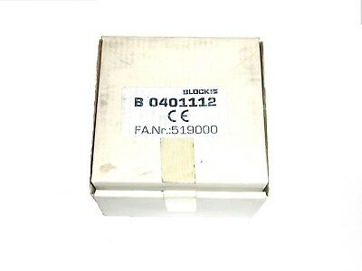 B0401112 BLOCK Toroidal Transformer 2X115V IN 2X22V 2.27A Out 100VA RK100/22 1pc