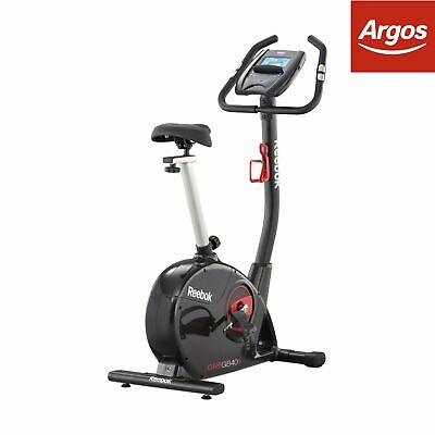 Reebok GB40s One Series Electronic Resistance Upright Exercise Bike.