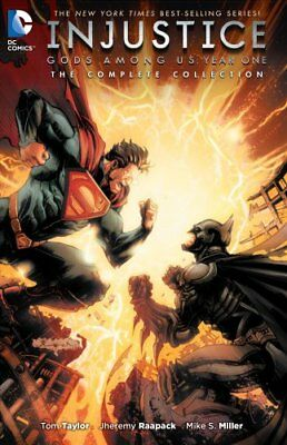Injustice Gods Among Us Year One: The Complete Collection 9781401262792