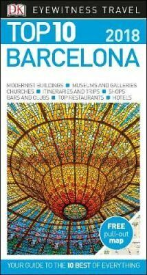 Top 10 Barcelona by DK (Paperback, 2017)