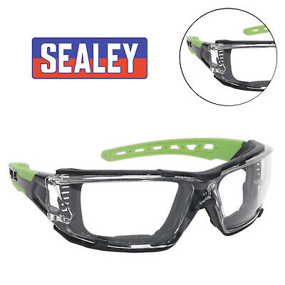 1x Sealey Safety Spectacles With EVA Foam Lining Clear Lens - SSP68
