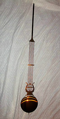 PENDULUM FOR HERMLE LONGCASE MOVEMENT 107cm OLD 'NEW STOCK'. UNUSED CONDITION
