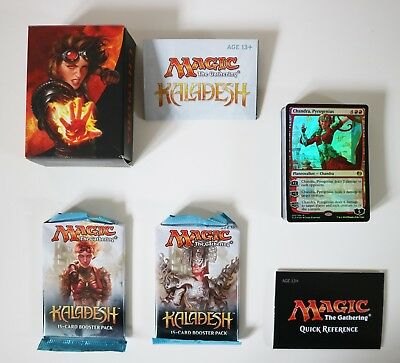 Magic the Gathering Kaladesh Chandra Planeswalker 60 Card Deck & 2x Boosters