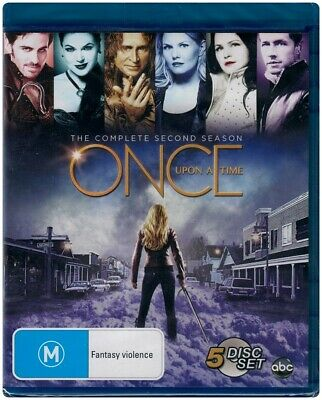"""ONCE UPON A TIME: Season 2"" Blu-ray 5 Disc Set - Region Free [A,B,C] NEW"
