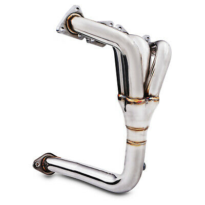 STAINLESS DE CAT BYPASS RACE SPORT EXHAUST MANIFOLD FOR PEUGEOT 207 1.6 16v VTI