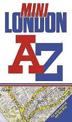 Geographers' A-Z Map Company, A-Z Mini Street Atlas of London, Very Good Book