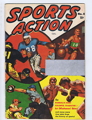 Sports Action #8 Bell Features Pub CANADIAN EDITION
