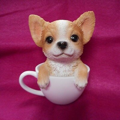 NEW CHIHUAHUA Pup in a Cup from Pacific Trading