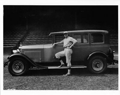 1928 Packard Six Sedan ORIGINAL Photo Negative Eddie Rommel Baseball nad2042