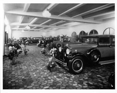 1930 Packard Showroom ORIGINAL Photo Negative Detroit nad2066