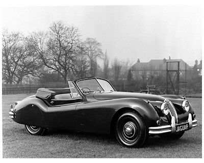 1955 1956 1957 Jaguar XK140 Drophead Factory Photo cb1247