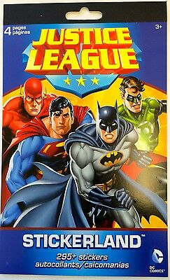 JUSTICE LEAGUE AMERICA ~ MARVEL HERO ~ DC COMICS STICKERS 15//100 PCS ~ LICENCED