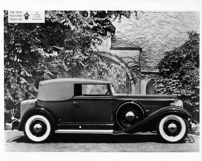 1932 Twin Six 905 Convertible Victoria ORIGINAL Photo Negative nad2142
