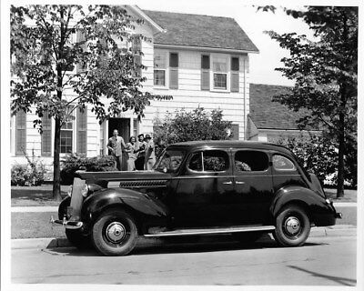 1939 Packard Six Sedan ORIGINAL Photo Negative nad2194