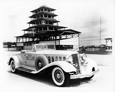 1933 Chrysler Imperial Pace Car Indianapolis 500 ORIGINAL Photo Negative nad3204
