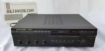 Harman/kardon 3300 stereo receiver with manual