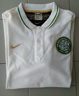 POLO CELTIC SHIRT Celtic Football Club UFFICIALE SCOTLAND JERSEY FOOTBALL CELTIC