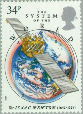 GREAT BRITAIN -1987- Sir Isaac Newton - The System of the World - MNH - #1175