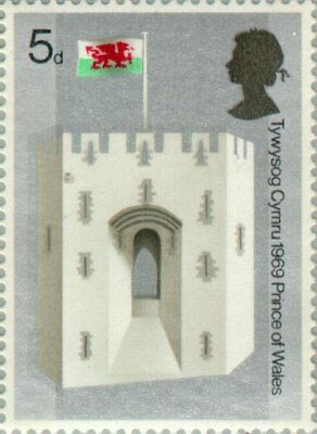 UK-1969-Investiture of H.R.H. The Prince of Wales/King's Gate, Caernarvon Castle