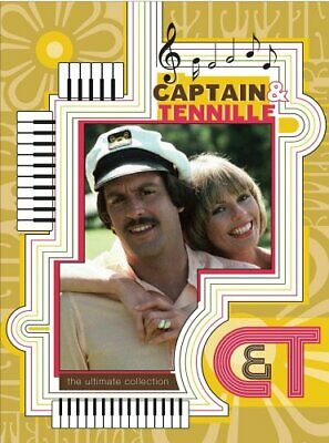 The Captain & Tennille - Ultimate Collection (3 DVD Set) NEW!
