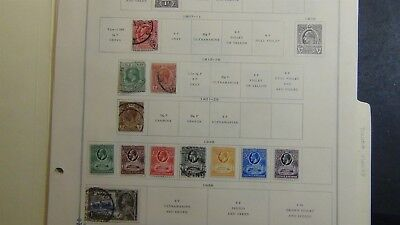 Ghana Stamp collection on Scott Int'l album pages - '72 w/ 191 stamps