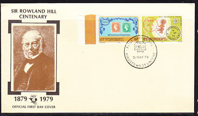 St Vincent 1979 Rowland Hill  First Day Cover