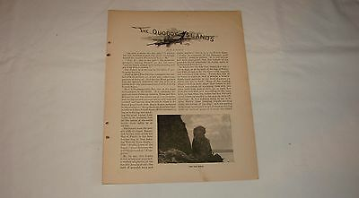 1892 magazine article ~ THE QUODDY ISLANDS, Maine