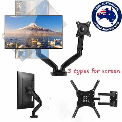 3 Types HD LED Desk Mount Bracket Monitor Stand Display Screen TV Holder BN A1