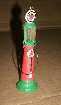 1/24 Scale Texaco 10 Gallon Visible Gas Pump Replica Christmas Tree Ornament