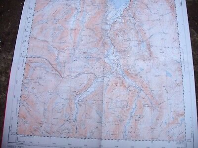 "Lakes District:borrowdale;2 1/2"" Ordnance Map:annotated 1950-62 Private Cover"