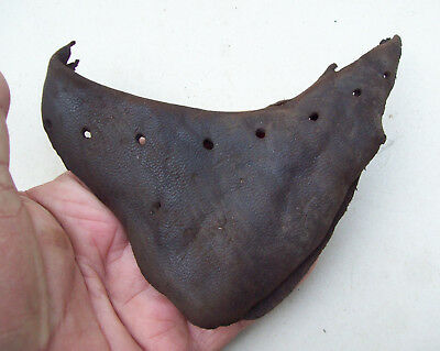 Dug Nice Leather Upper Part of a Medieval Shoe 1500's/ 1600's