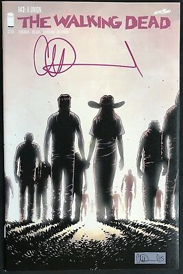 IMAGE COMICS THE WALKING DEAD #143 SIGNED BY CHARLIE ADLARD with COA