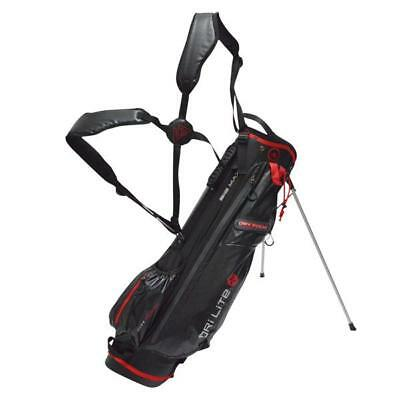 Big Max Golf Dri Lite G Stand Bag Navy Charcoal Silver