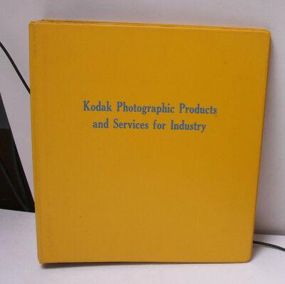 "Kodak 1.5"" Binder for Photo Products and Services for Industry Multi USED F31PT"