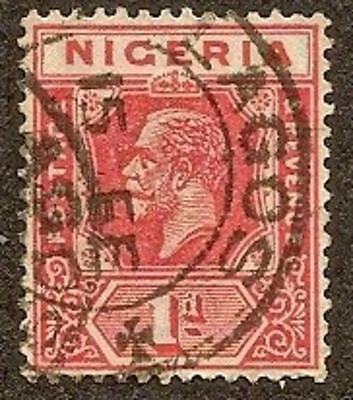 Nigeria Scott# 2, King George V, 1p, Used, 1914
