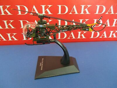 Die cast 1/72 Modellino Elicotter Helicopter Bell OH-13G Sioux MASH USA