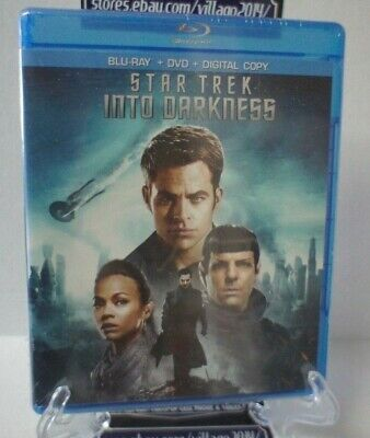 Star Trek Into Darkness   Blu-Ray+DVD  FREE SHIPPING!!