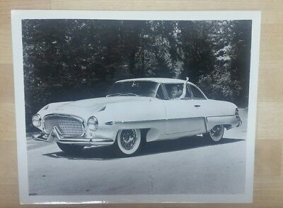 1955 Hudson Italia Concept car original 8x10 press photo