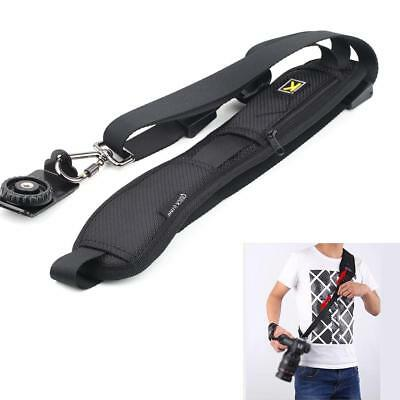 Quick Rapid Shoulder Sling Belt Neck Strap For Camera SLR/DSLR Nikon Canon BF