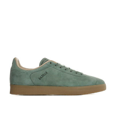 Mens adidas Originals Gazelle Decon Trainers In Trace Green/ St Pale Nude